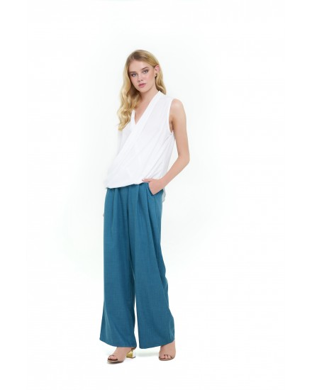 LOUISE PANTS IN EMERALD