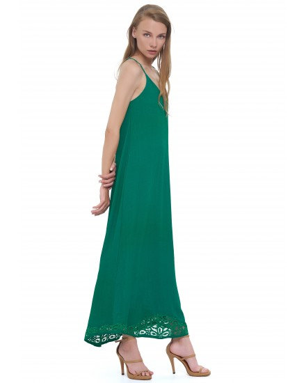 BAHIA DRESS IN EMERALD