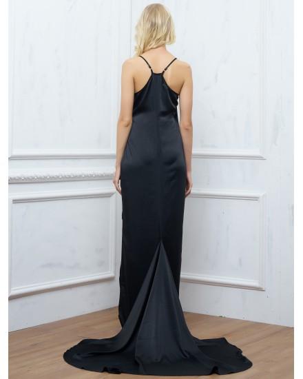 ANNORA DRESS IN BLACK