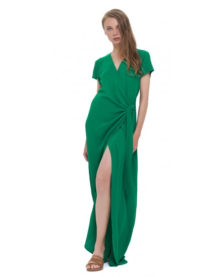 JENA DRESS IN EMERALD GREEN