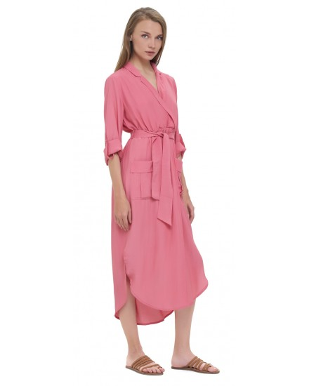 NAIMA DRESS IN TEA ROSE
