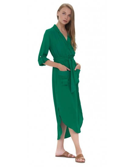 NAIMA DRESS IN EMERALD