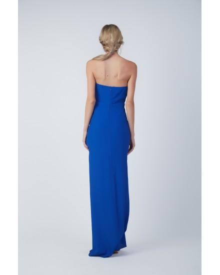 ALESSANDRA DRESS IN COBALT BLUE