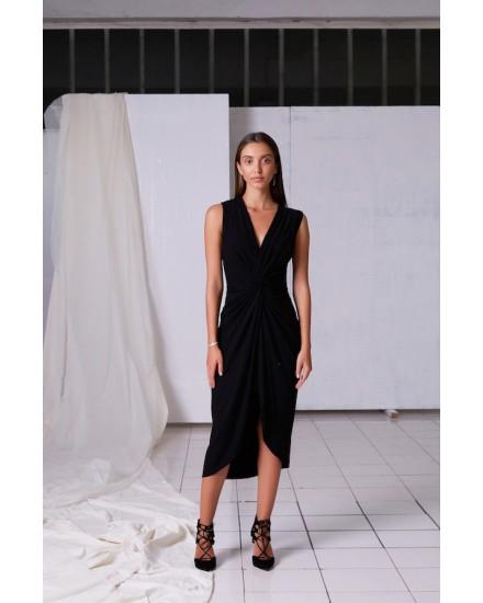 INA DRESS IN BLACK