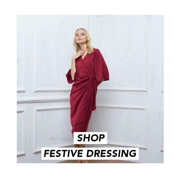 SHOP FESTIVE DRESSING