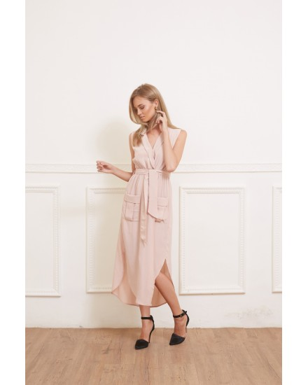 IVY DRESS IN ROSE