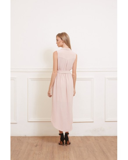 IVY DRESS IN ROSE