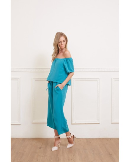 TANAYA JUMPSUIT IN TOSCA