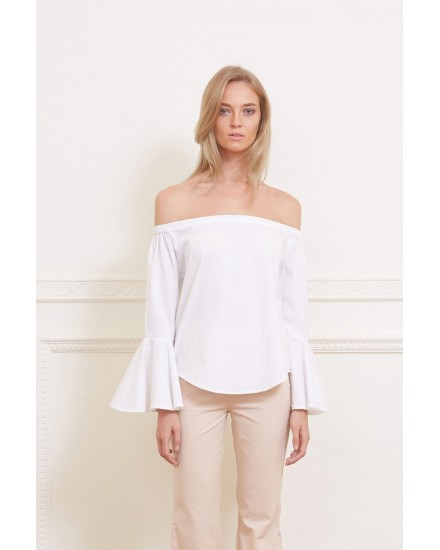 FIONA TOP IN WHITE