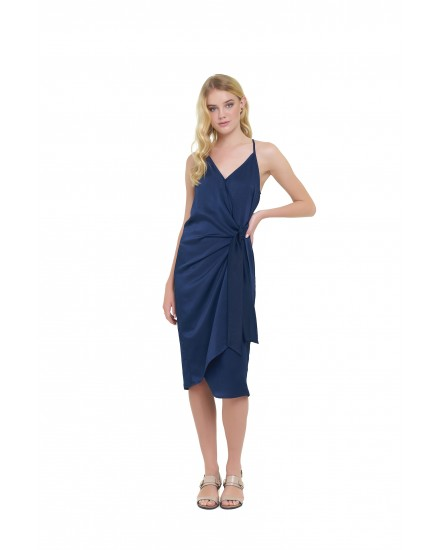 GIANNA DRESS IN NAVY