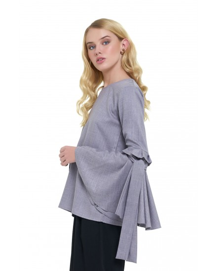 SAVANNAH TOP IN GREY