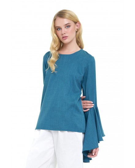 RUBY TOP IN EMERALD