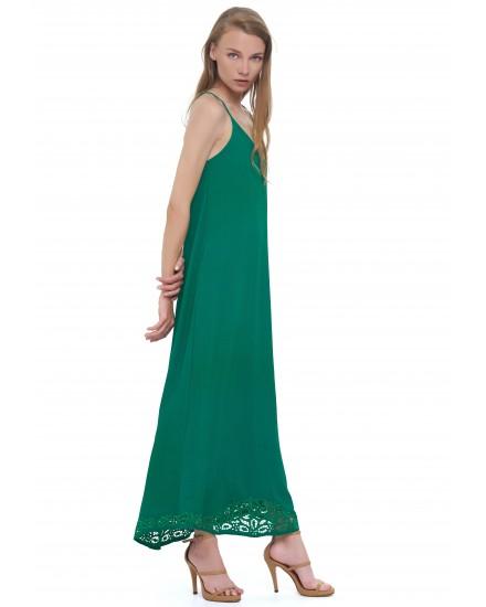 BAHIA DRESS IN EMERALD
