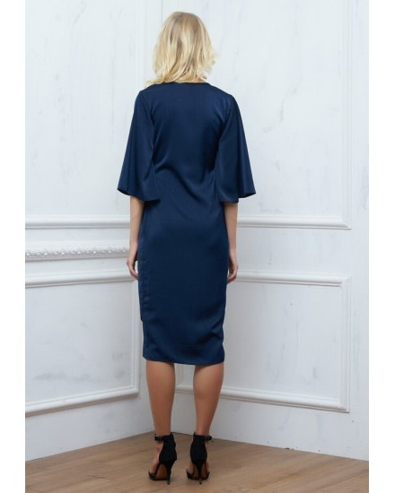 AMAIA DRESS IN NAVY