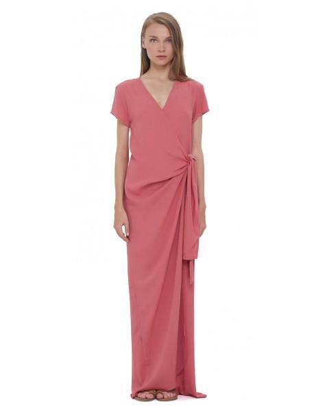 JENA DRESS IN TEA ROSE