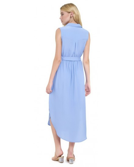 IVY DRESS IN CORNFLOWER