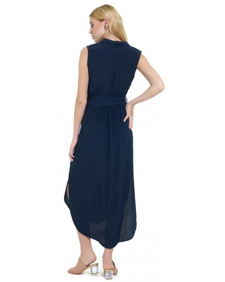 IVY DRESS IN NAVY