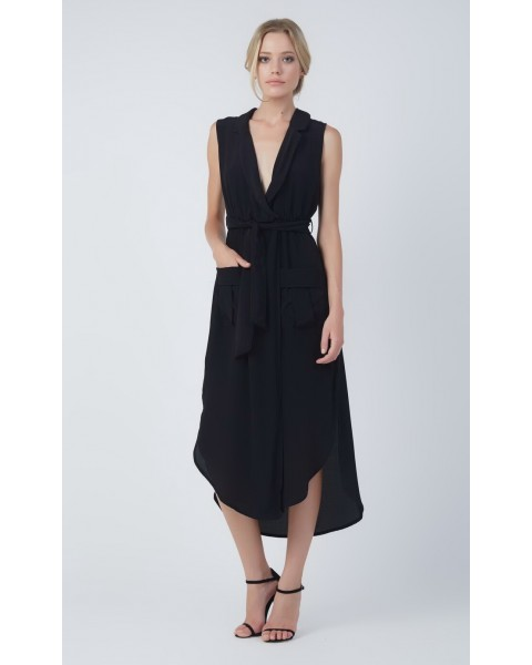 IVY DRESS IN BLACK