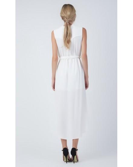 IVY DRESS IN WHITE