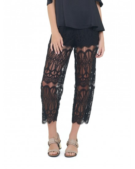 RAFFAEL PANTS IN BLACK