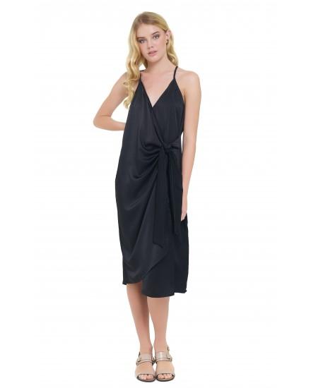 GIANNA DRESS IN BLACK