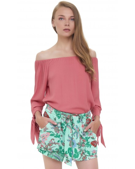 DAVIDA TOP IN TEA ROSE