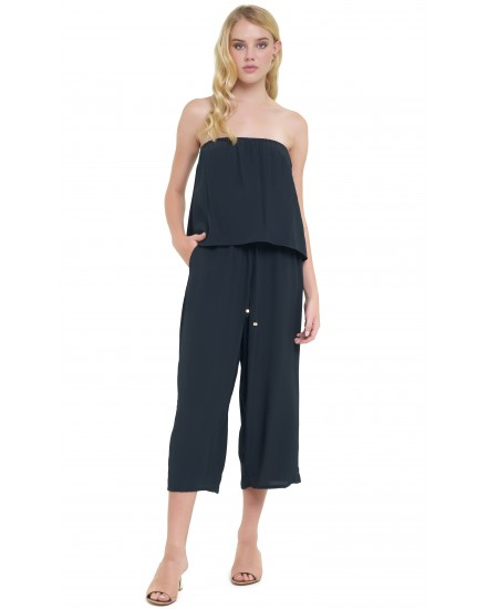 JILL JUMPSUIT IN CHARCOAL