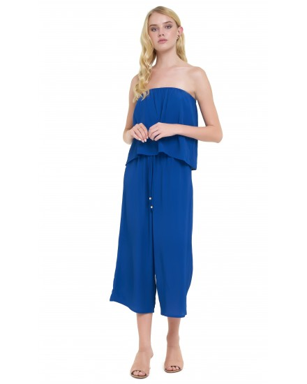 JILL JUMPSUIT IN COBALT BLUE