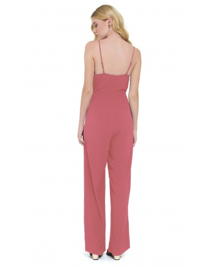 NICOLA JUMPSUIT IN TEA ROSE