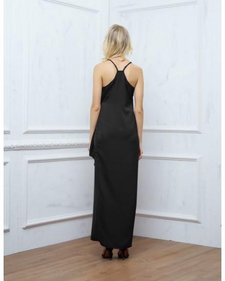 SAGE DRESS IN BLACK
