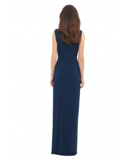 VANESSA DRESS IN NAVY
