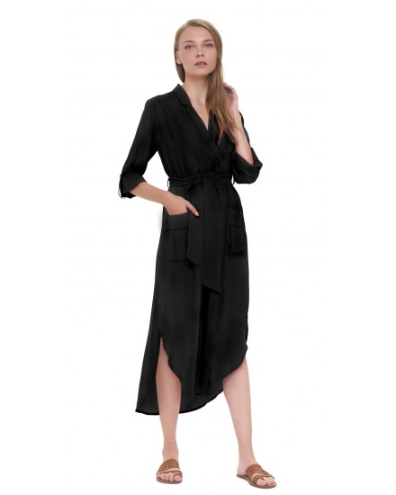 NAIMA DRESS IN BLACK