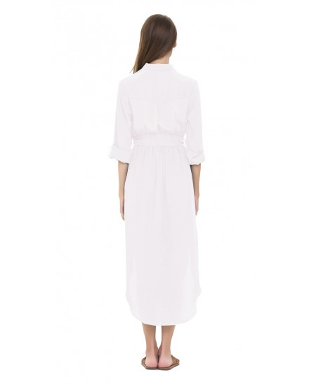 NAIMA DRESS IN WHITE
