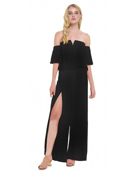 ATRANI JUMPSUIT IN BLACK