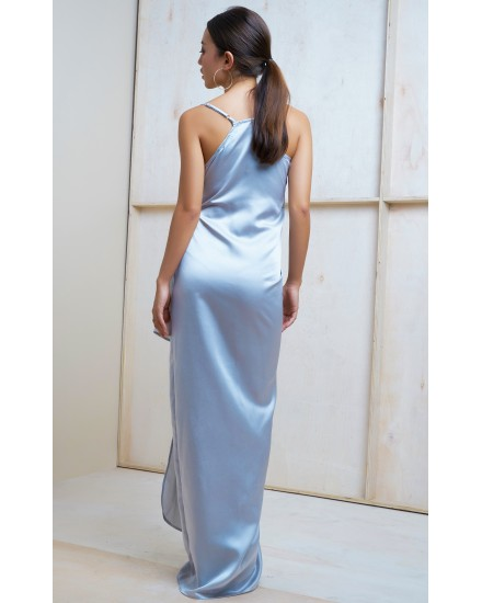 SAGE DRESS IN SILVER