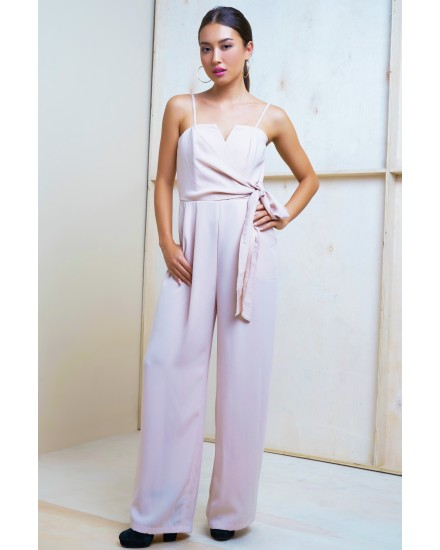 MEGHAN JUMPSUIT IN ROSE