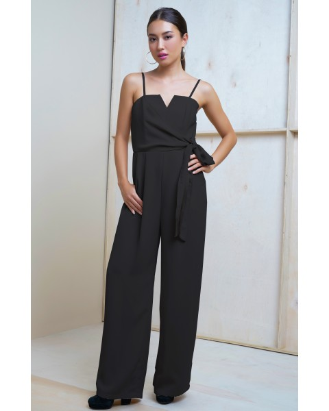 MEGHAN JUMPSUIT IN BLACK