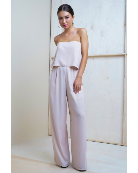 VIVIAN JUMPSUIT IN ROSE