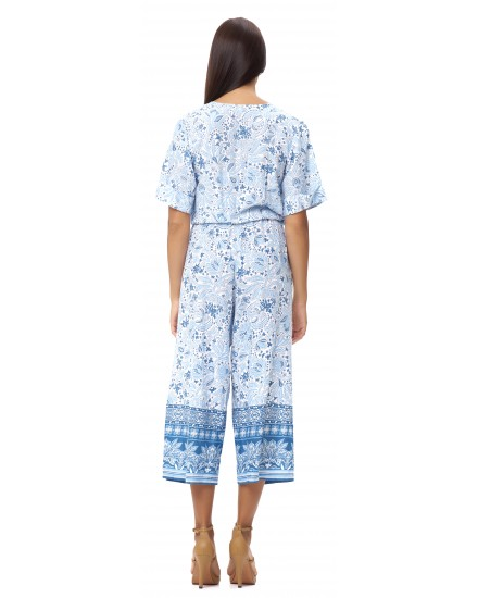 CALDERA JUMPSUIT IN IMEROVIGLI CORNFLOWER BLUE