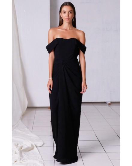 PALOMA DRESS IN BLACK