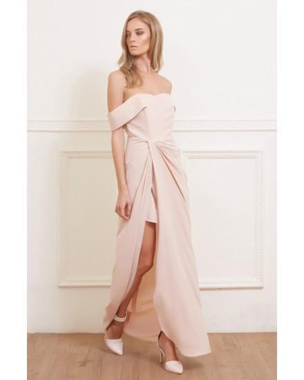 PALOMA DRESS IN ROSE