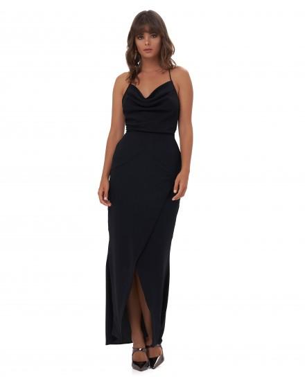 AVIANA DRESS IN BLACK