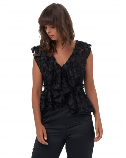 ANOUK TOP IN BLACK