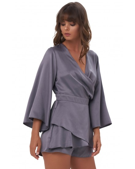 ARMELLE ROMPER IN GREY