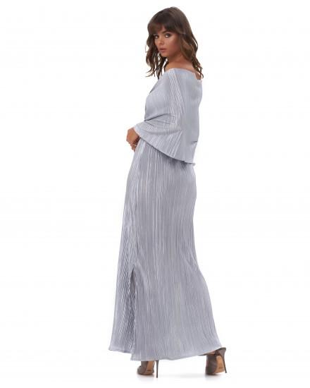 MALIA DRESS IN SILVER