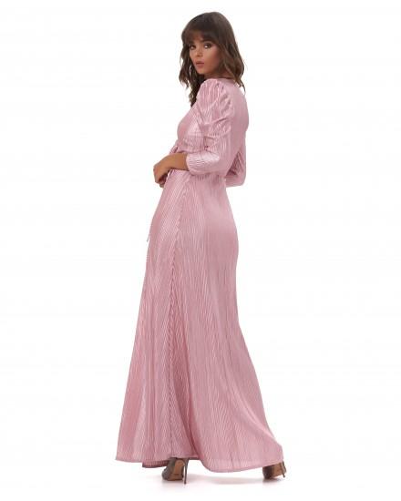 CORINNA DRESS IN ROSE GOLD