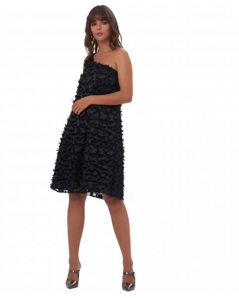 PANDORA DRESS IN BLACK