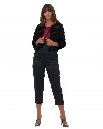 ZANRA PANTS IN BLACK