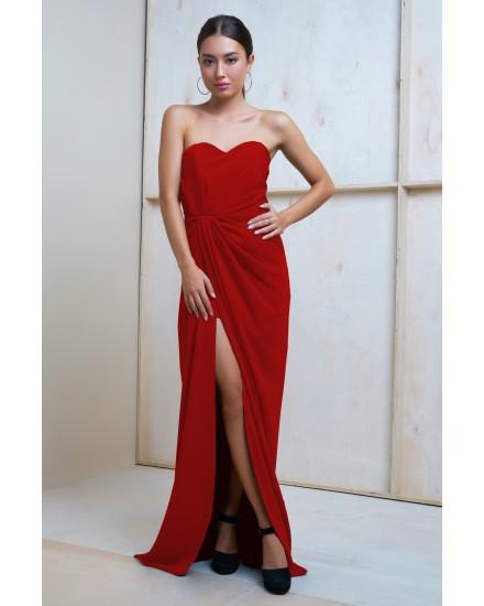 SARAH DRESS IN RED