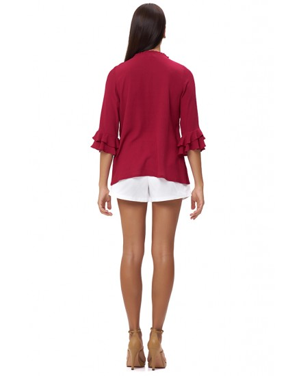 MYLOS TOP IN FUCHSIA